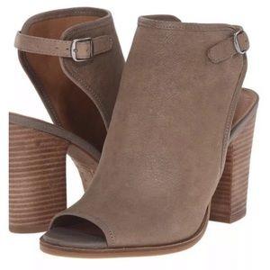 Lucky Brand 🍀 peep toe heels